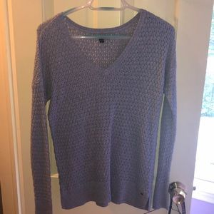 American Eagle Light Purple Knitted Sweater